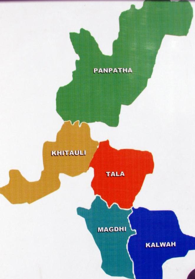 bandhavgarh-zones